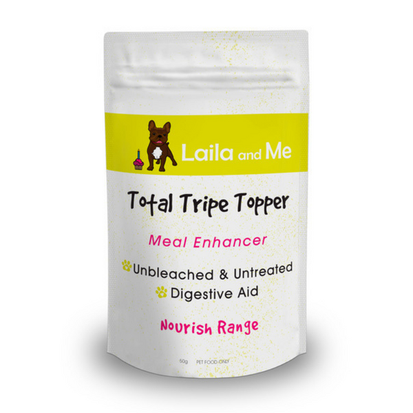 Laila and Me Nourish Meal Enhancer | Total Tripe Topper | Peticular