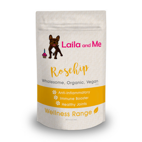 Laila and Me Organic Wellness Range Treats | Rosehip | Peticular