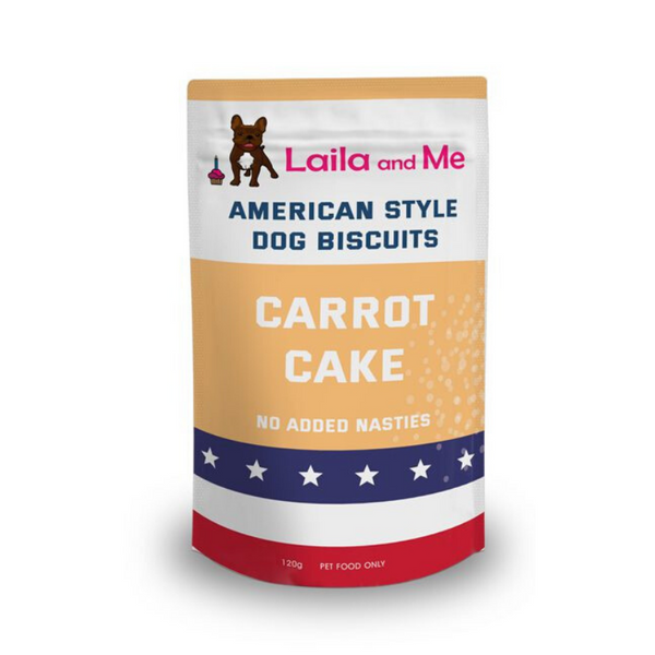 Laila and Me Carrot Cake Doggie Biccies | Peticular