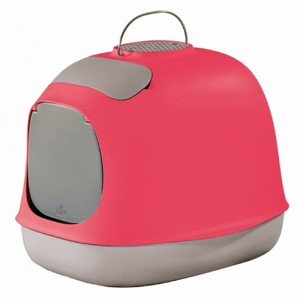 United Pets Minu Cat Litter Box | Pink | Peticular