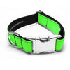 MATTIE + MARGOT Neon Green Dog Collar | Peticular