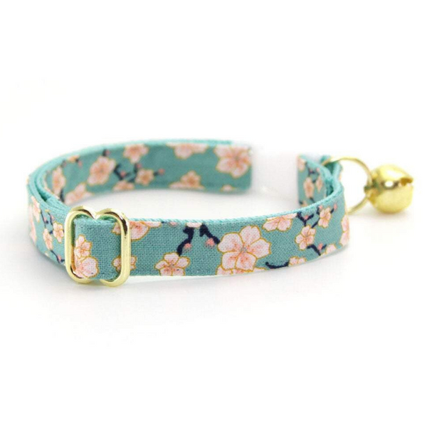 Made by Cleo Cherry Blossom Cat Collar | Peticular