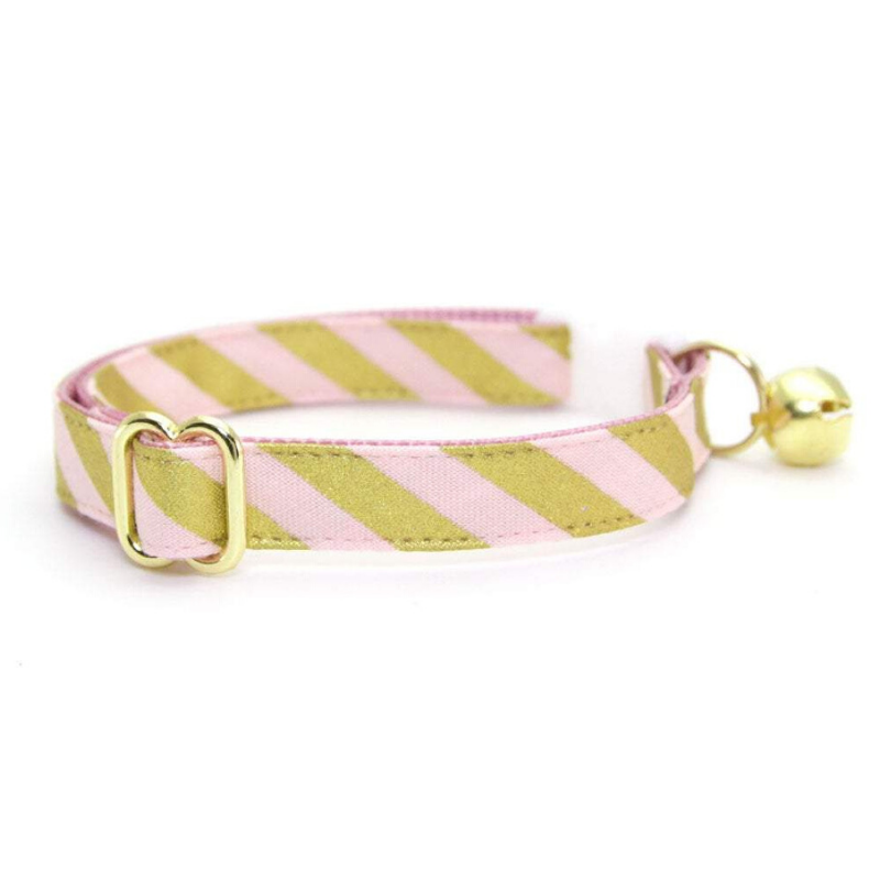 Made by Cleo Gold Blush Cat Collar | Peticular