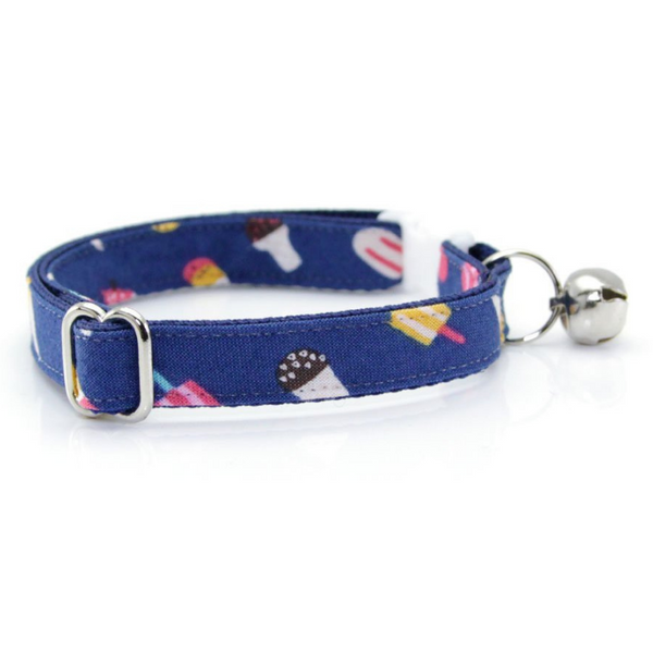Ice Cream Party Cat Collar