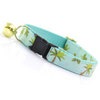 Made by Cleo Aqua Palm Trees Cat Collar | Peticular