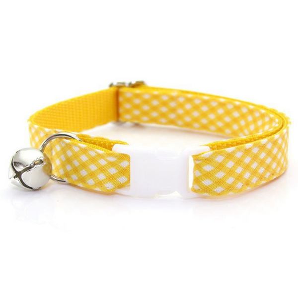 Golden Afternoon Cat Collar