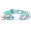 Made by Cleo Mint Cookies & Milk Cat Collar | Peticular