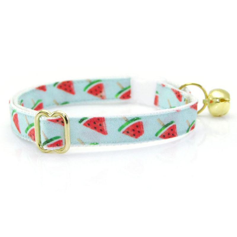 Watermelon Pops Cat Collar