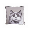 Mog & Bone Throw Cushion | Tabby | Peticular