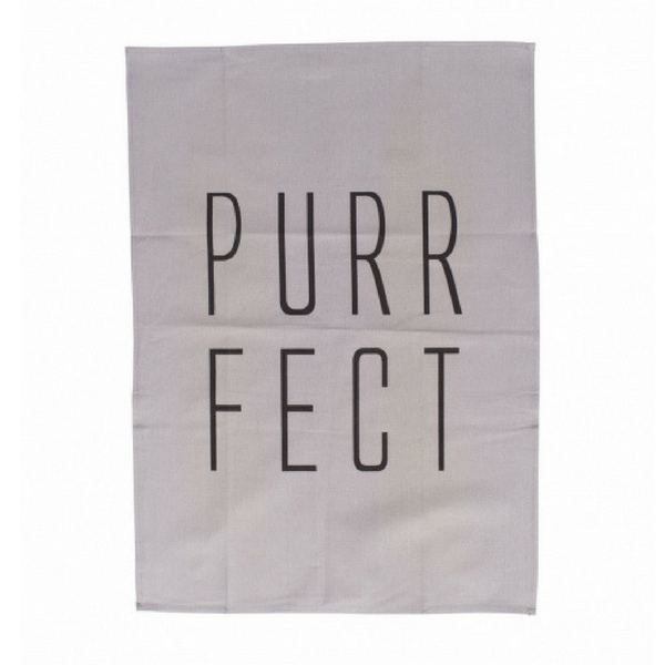 Mog & Bone Tea Towel | Purrfect | Peticular