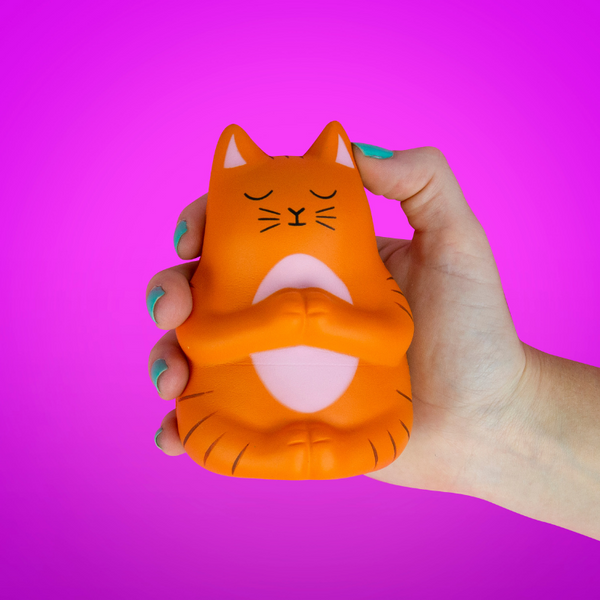 Meow-ditation Stress Toy