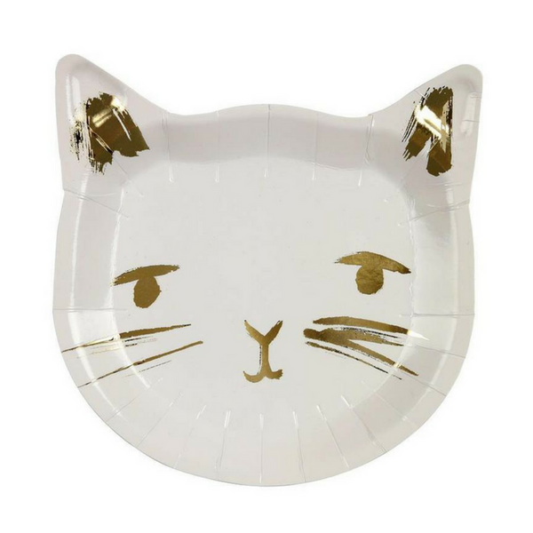 Meri Meri Cat Party Plates | Peticular