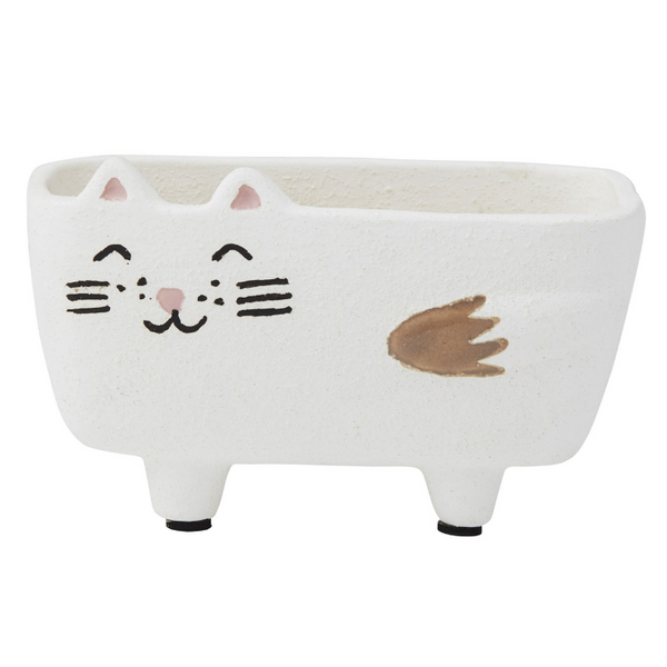 Emporium Ceramic Cat Pot | Molly | Peticular