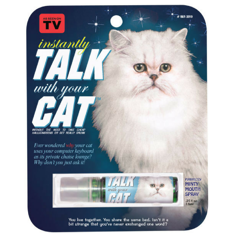Blue Q Breath Spray | Talk With Your Cat | Peticular