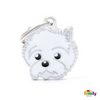 My Family Pet ID Tag | West Highland White Terrier + FREE Engraving | Peticular