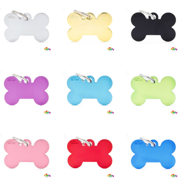 Pet ID Tag | Basic Bone + FREE Engraving