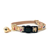 NICE DIGS Jungle Confetti Leather Cat Collar | Peticular