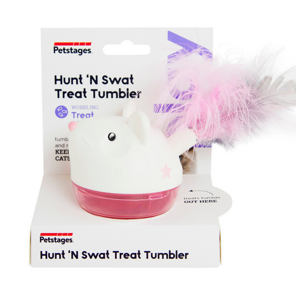 Hunt 'N Swat Treat Tumbler Cat Toy