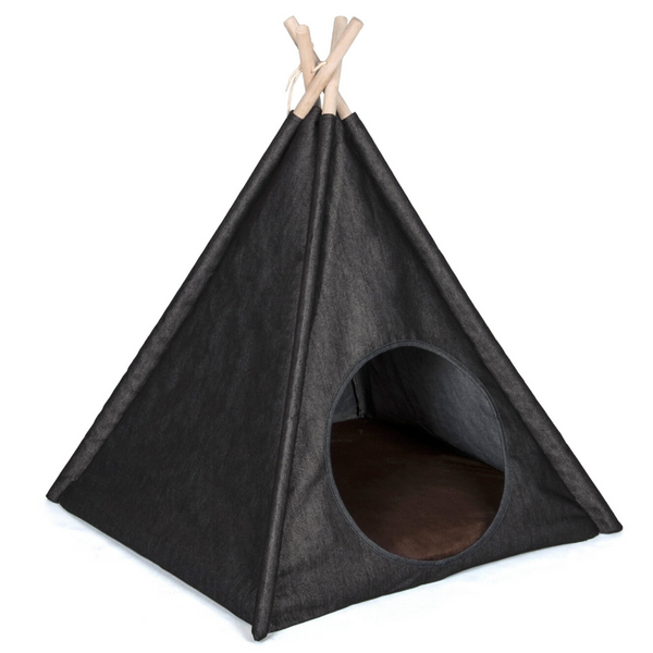 P.L.A.Y Pet Teepee | Denim | Peticular