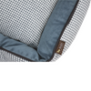 P.L.A.Y Houndstooth Lounge Pet Bed | Light Blue | Peticular