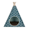 Pet Teepee | Moroccan Navy