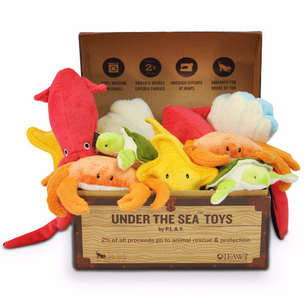 P.L.A.Y Under The Sea Plush Toys | Peticular