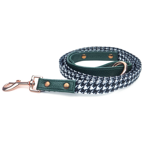 PUPSTYLE Emerald Envy City Dog Leash | Peticular