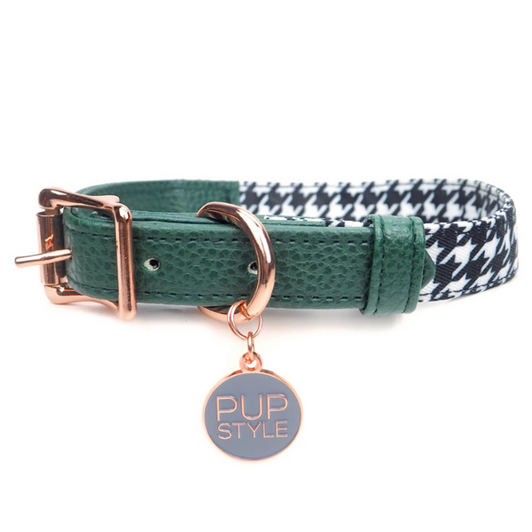 Emerald Envy City Dog Collar