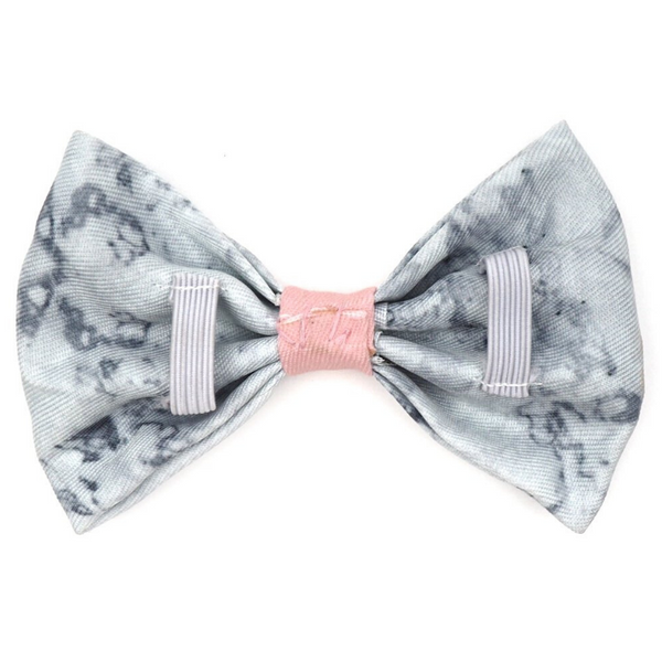 PUPSTYLE Marble Luxe Bow Tie | Peticular