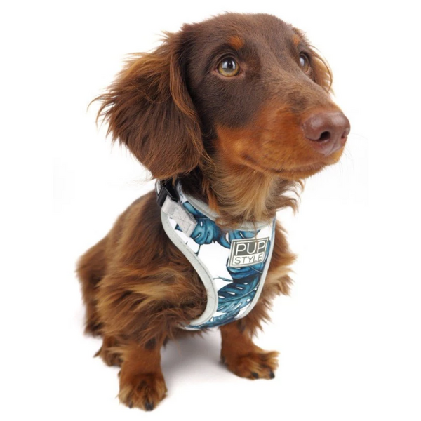 PUPSTYLE Palm Vibes Dog Harness | Peticular