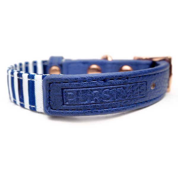 Stripe Squad City Dog Collar