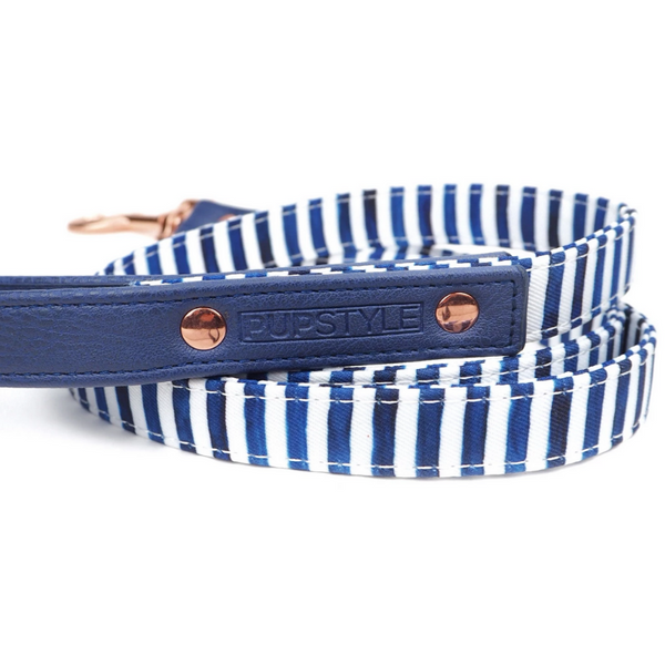 PUPSTYLE Stripe Squad City Dog Leash | Peticular