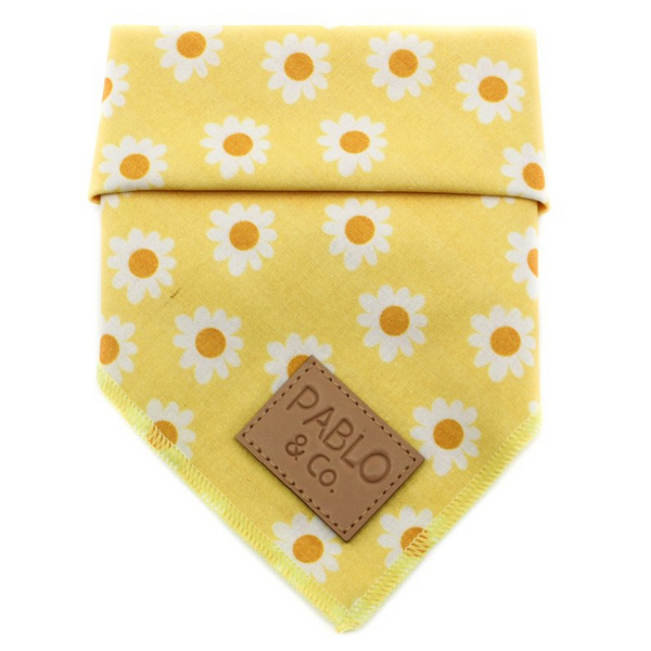 Tie-Up Bandana | Yellow Daisy