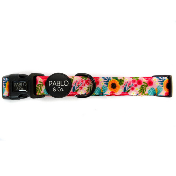 The Floral Edit Dog Collar