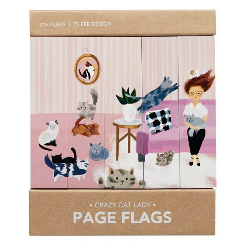 Page Flags | Crazy Cat Lady