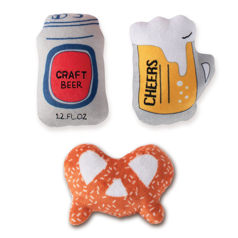 Beer Mini Dog Toys