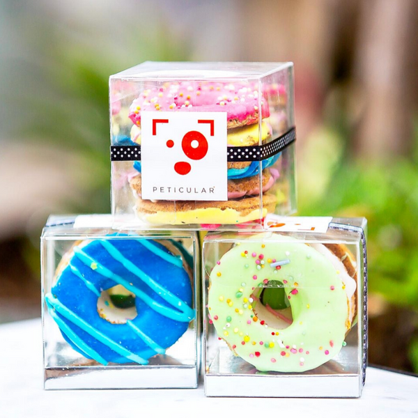 Huds and Toke Doggie Donuts | Gift Box | Peticular