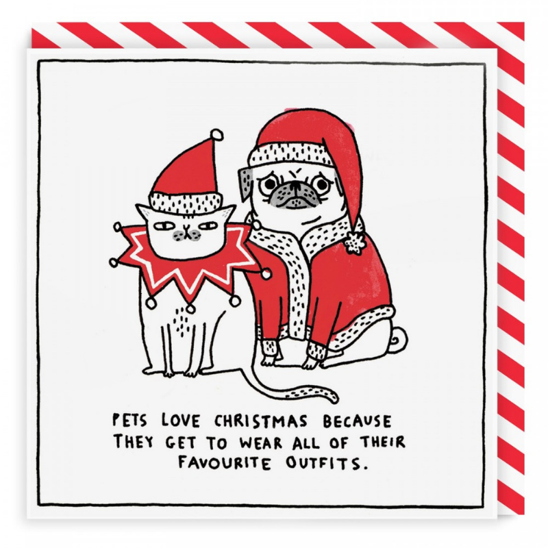 Vevoke Christmas Card | Pets Love Christmas | Peticular
