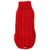 Dogue Cable Knit Dog Jumper | Red | Peticular