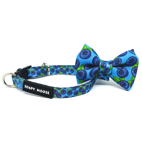 Blueberries Cat Collar