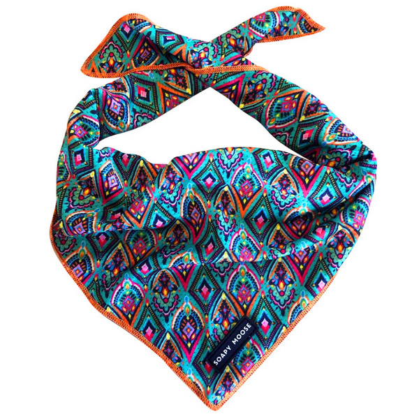 Tie-Up Bandana | Moroccan Sunrise