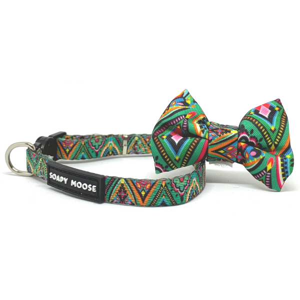 Soapy Moose Moroccan Sunrise Cat Collar | Peticular