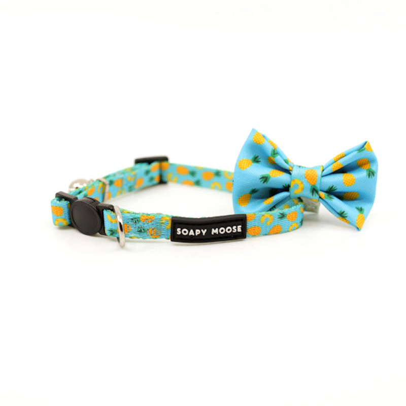 Pineapple Slice Cat Collar