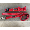 Soapy Moose Red & White Polka Dots Dog Lead | Peticular