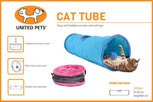 United Pets Cat Tube | Peticular