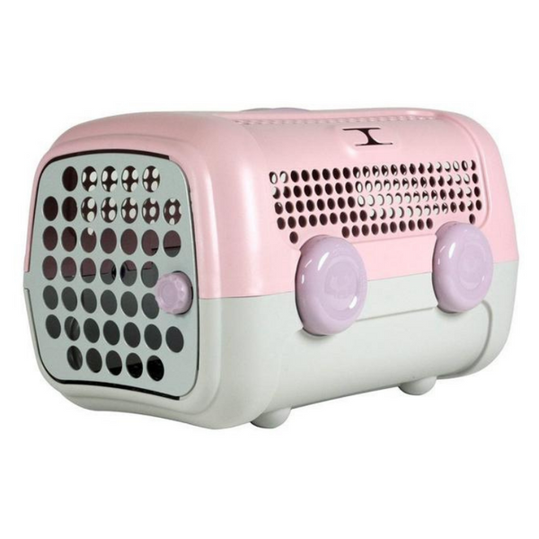 A.U.T.O. Pet Carrier | Pastel Pink