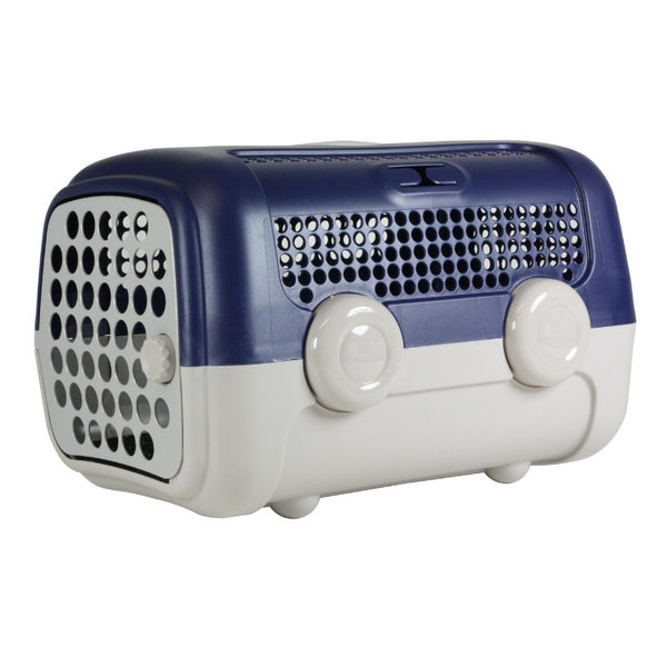 United Pets A.U.T.O. Pet Carrier | Dark Blue | Peticular