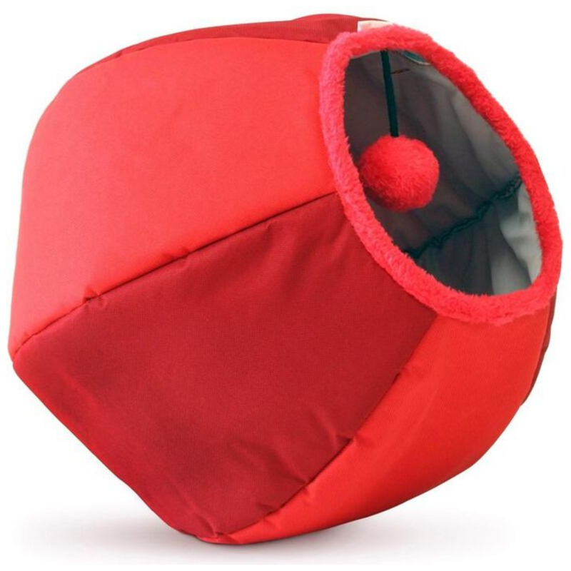 United Pets Cat Cave Trend | Red | Peticular