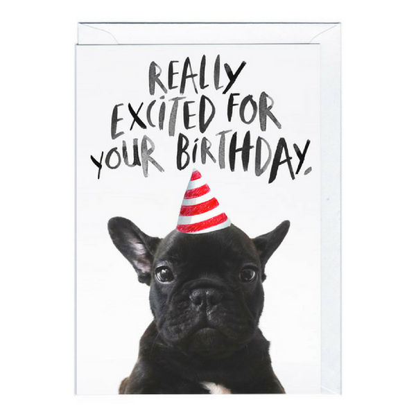Birthday Card | Really Excited
