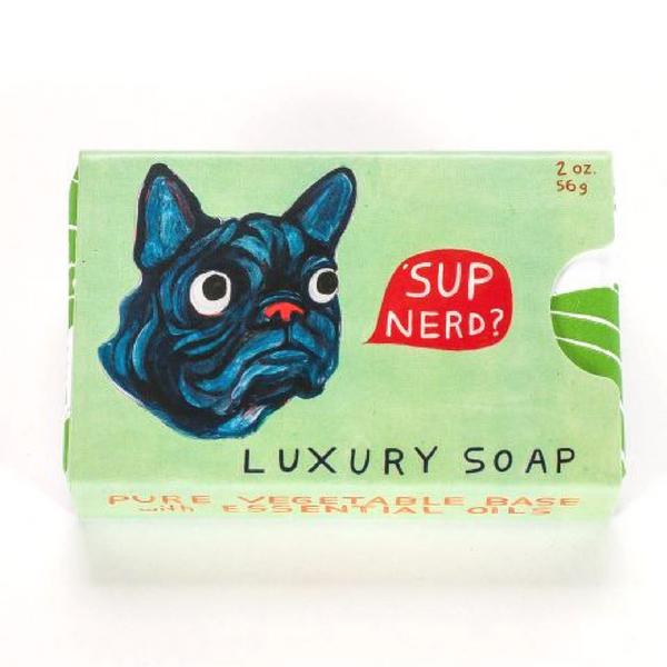 Blue Q Luxury Soap | 'Sup Nerd | Peticular